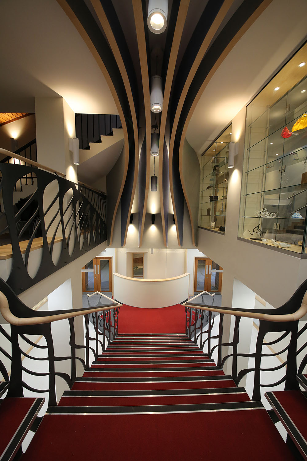 Stockport Grammar Theatre stairs